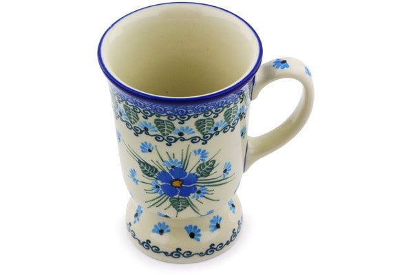 8 oz Mug - Empire Blue | Polish Pottery House