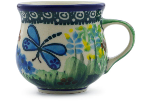 2 oz Espresso Cup - Whimsical | Polish Pottery House
