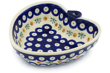 16 oz Heart Bowl - Old Poland | Polish Pottery House
