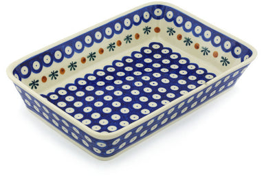 "7"" x 11"" Rectangular Baker - Old Poland 