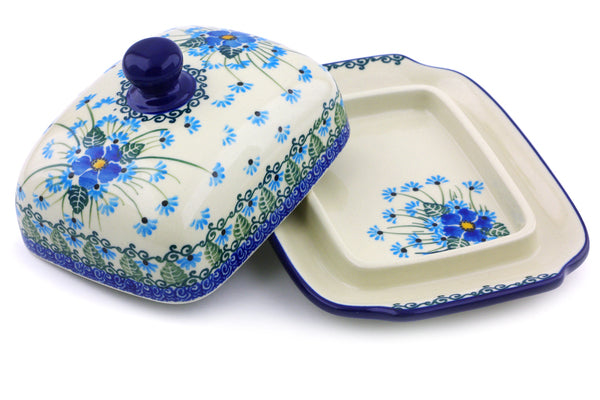 "7"" Butter Dish - Empire Blue 