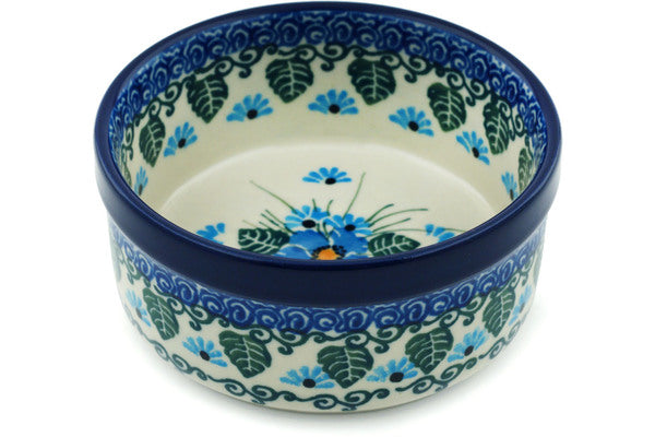 6 oz Condiment Bowl - Empire Blue | Polish Pottery House