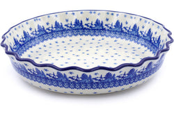 "11"" Fluted Pie Plate - P9285A 