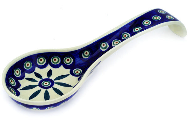 "12"" Spoon Rest - Peacock 