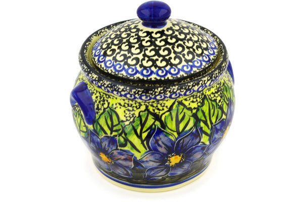 "6"" Jar with Lid - P5703A 