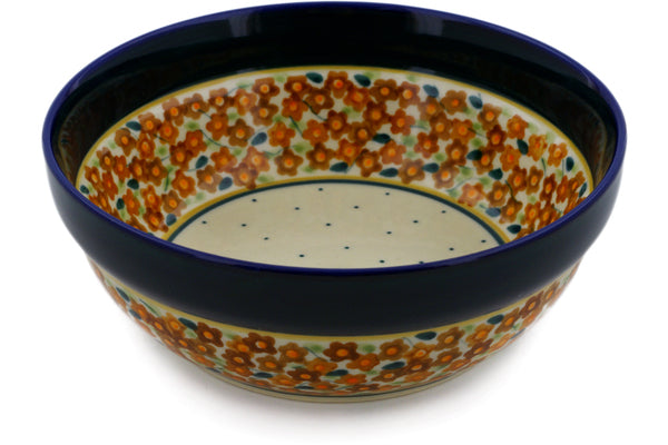 18 oz Cereal Bowl - Floral Spice | Polish Pottery House