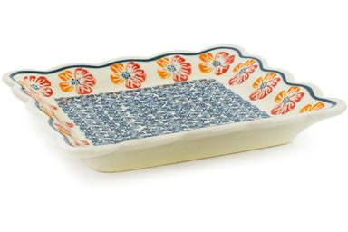 "7"" Scalloped Platter - P7230A 