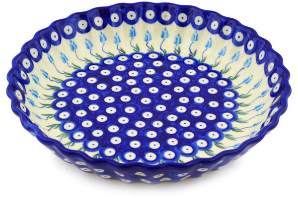 "10"" Fluted Pie Plate - D107 