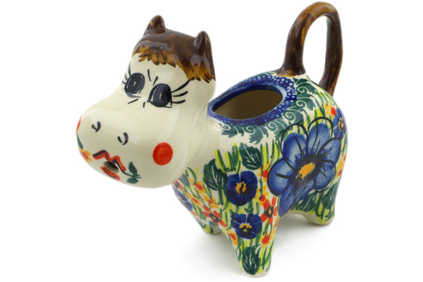 5 oz Cow Shaped Creamer - P6057A | Polish Pottery House