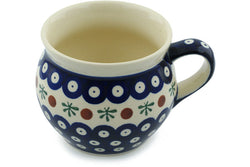 15 oz Bubble Mug - Old Poland | Polish Pottery House