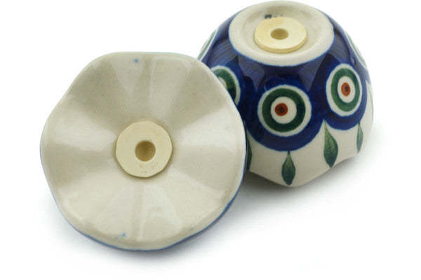 "3"" Salt and Pepper Shakers - Peacock 