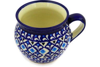 12 oz Bubble Mug - 217A | Polish Pottery House