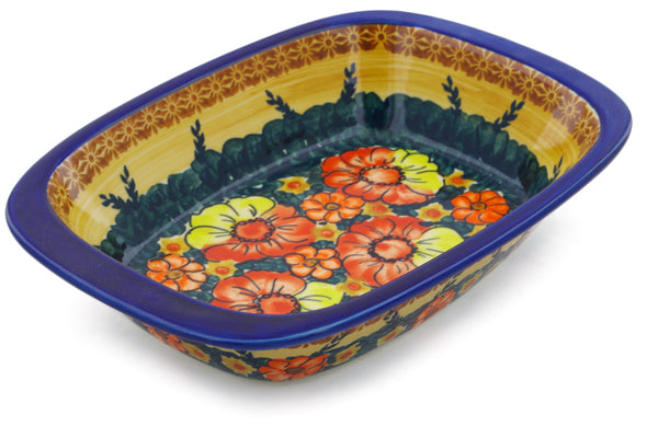 "8"" x 11"" Rectangular Baker with Handles - D112 