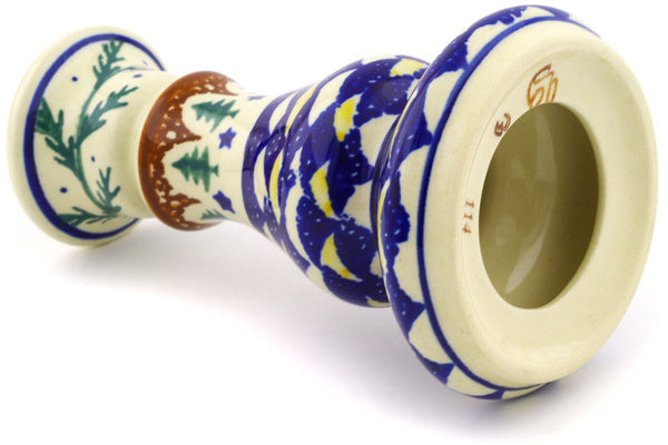 "7"" Candle Holder - Evergreen 