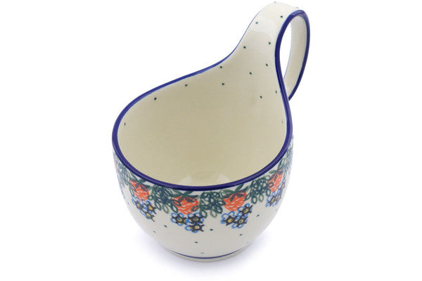 16 oz Soup Cup with Handle - 721X | Polish Pottery House