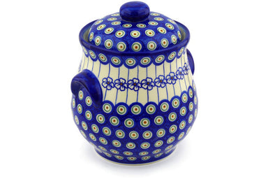 13 cup Canister - D106 | Polish Pottery House