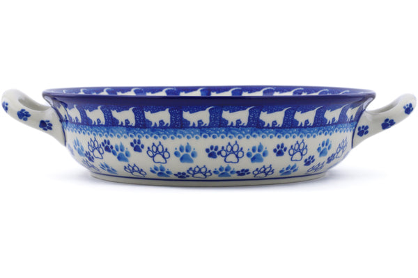 "8"" Round Baker with Handles - 1771X 