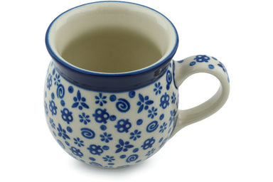 8 oz Bubble Mug - Confetti | Polish Pottery House