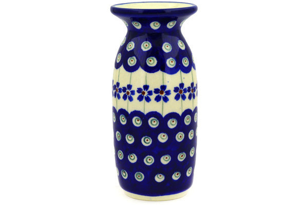 "5"" Vase - Floral Peacock 