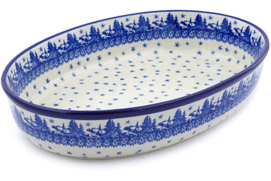 "14"" Oval Baker - P9285A 
