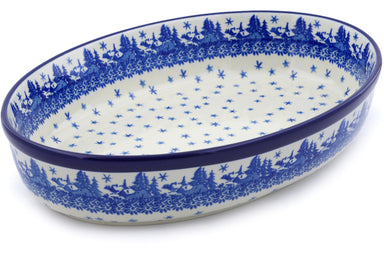 "12"" Oval Baker - P9285A 