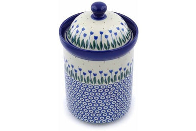 6 cup Canister - 490AX | Polish Pottery House
