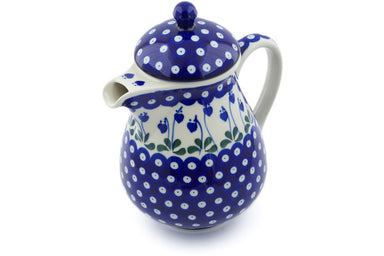 6 cup Pitcher with Lid - 377O | Polish Pottery House