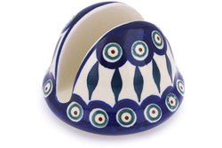 "3"" Napkin Holder - Peacock 