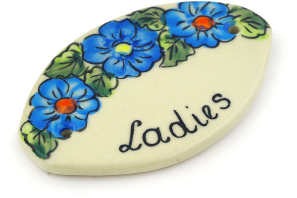 "4"" Restroom Sign - D116A 