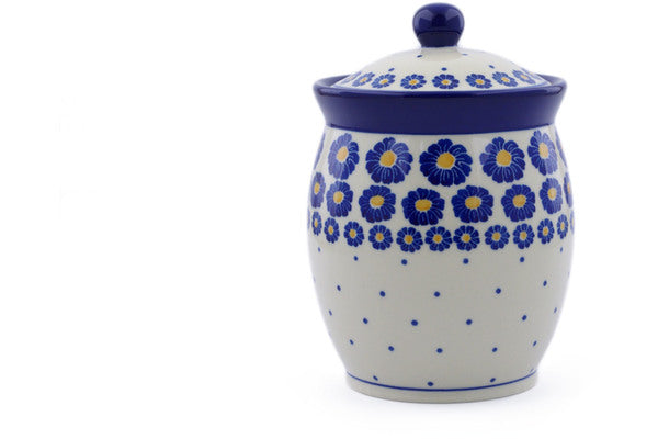 4 cup Canister - P8824A | Polish Pottery House