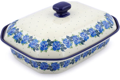 "12"" Covered Baker - Bendikas Floral 