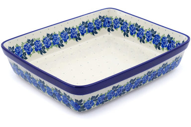 "11"" x 12"" Rectangular Baker - Bendikas Floral 