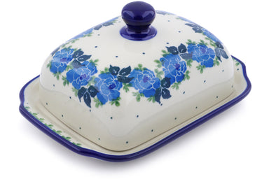 "7"" Butter Dish - Bendikas Floral 
