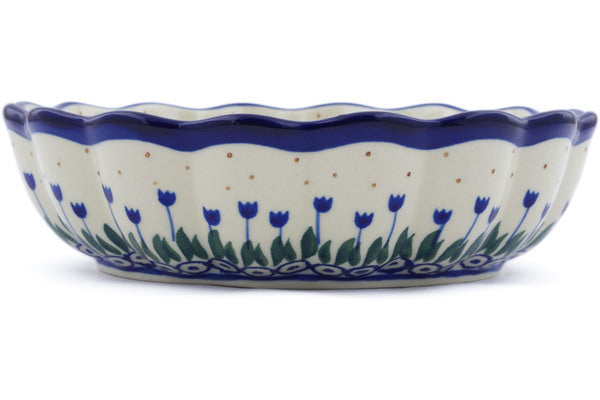 4 cup Scalloped Fluted Bowl - 490AX | Polish Pottery House