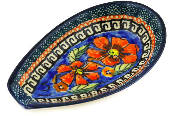 "5"" Spoon Rest - Poppies 