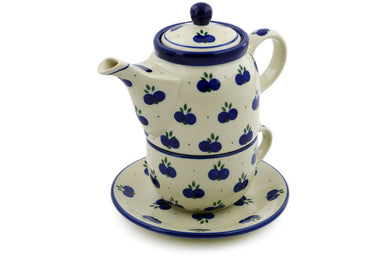 16 oz Tea for One - 67AX | Polish Pottery House
