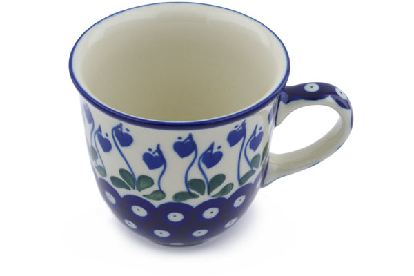 10 oz Mug - Blue Bell | Polish Pottery House