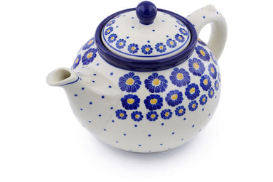 5 cup Tea Pot - P8824A | Polish Pottery House