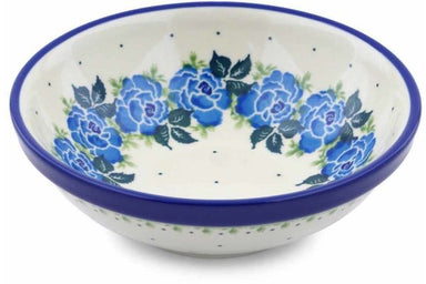 12 oz Dessert Bowl - Bendikas Floral | Polish Pottery House