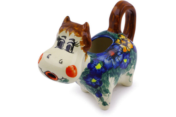 5 oz Cow Shaped Creamer - P5712A | Polish Pottery House