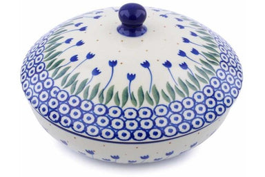 20 oz Jar with Lid - 490AX | Polish Pottery House