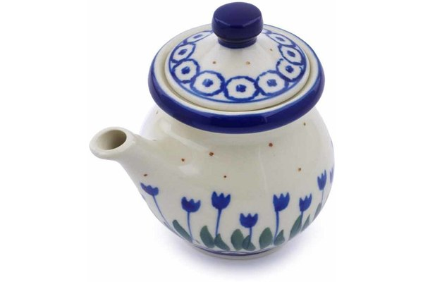 5 oz Creamer with Lid - 490AX | Polish Pottery House