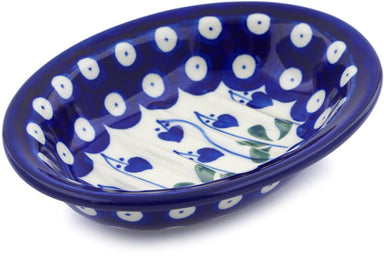 "6"" Soap Dish - Blue Bell 