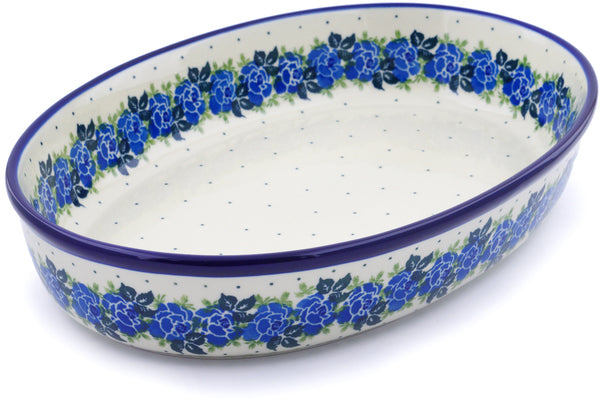 "14"" Oval Baker - Bendikas Floral 