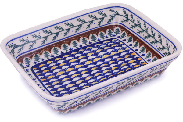 "10"" x 12"" Rectangular Baker - Evergreen 