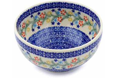 6 cup Serving Bowl - P9331A | Polish Pottery House