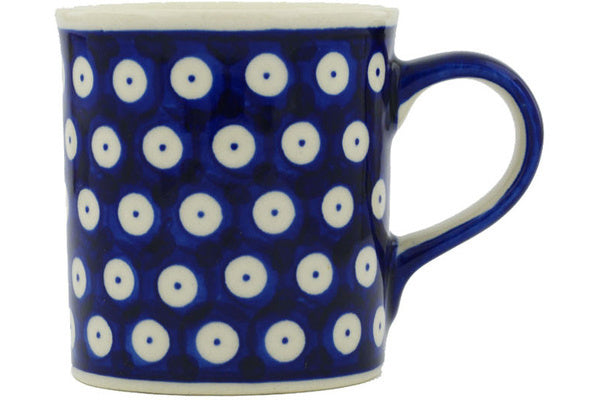 8 oz Mug - Polka Dot | Polish Pottery House