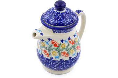 15 oz Creamer with Lid - P9331A | Polish Pottery House