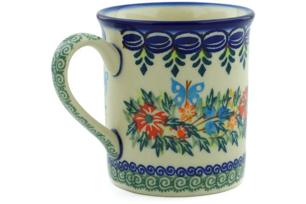 8 oz Mug - D156 | Polish Pottery House