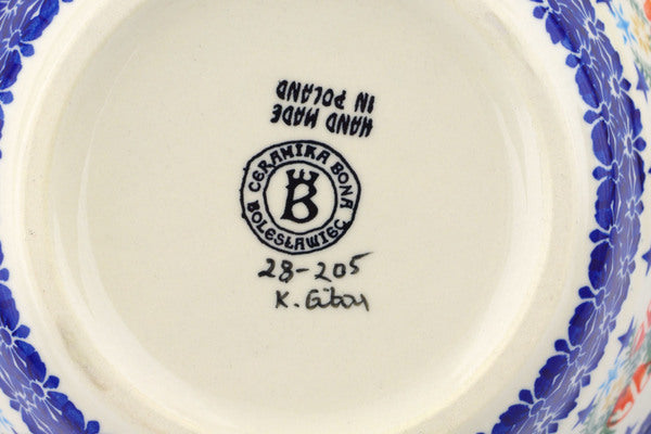 7 cup Fluted Bowl - P9331A | Polish Pottery House
